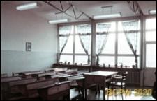 Szkoła 1000-lecia przy ulicy Witkiewicza, wnętrze sali lekcyjnej, Szczecin