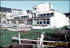 Stare Miasto, przedszkole, widok od strony placu zabaw, Szczecin