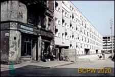 Stare Miasto, Plac Nowy Targ, osiedle Nowy Targ, budynek nr 15-21 oraz nr 22-27 w trakcie budowy, oraz narożna kamienica nr 1 przy ulicy Jodłowej, Wrocław