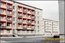 Osiedle Gajowice, budynki mieszkalne pięciokondygnacyjne, widok zewnętrzny, Wrocław