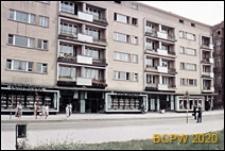Przedmieście Świdnickie, ulica Kołłątaja, budynek mieszkalny nr 34-35(58-60) pięciokondygnacyjny, z księgarnią Eureka na parterze, Wrocław