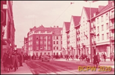 Ulica Świdnicka, widok ogólny zabudowy, Wrocław