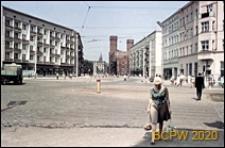 Plac Legionów, dawniej Plac PKWN, widok ogólny, Wrocław