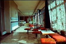 Dom wypoczynkowy Panorama, wnętrze z jadalnią, Zakopane