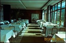Dom wypoczynkowy Panorama, wnętrze, jadalnia, Zakopane