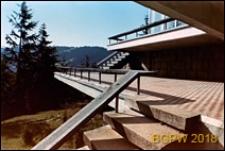 Dom wypoczynkowy Panorama, taras widokowy, Zakopane