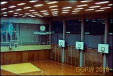 Dom Sportu WKKFiT, sala sportowa z boiskiem do koszykówki, Zielona Góra