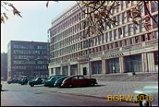 Plac Powstańców Warszawy, restauracja Stolica, fasada, Warszawa