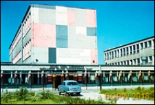 Żoliborz Południowy, Zespół Szkół Zawodowych Centralnego Związku Spółdzielczości Pracy, wejście główne do szkoły, Warszawa