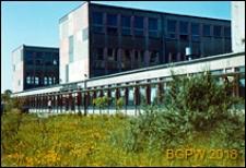 Żoliborz Południowy, Zespół Szkół Zawodowych Centralnego Związku Spółdzielczości Pracy, widok ogólny zewnętrzny, Warszawa