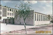 Osiedle WSM Rakowiec, szkoła podstawowa, widok zewnętrzny, Warszawa
