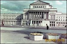 Teatr Wielki Opery i Baletu przy Placu Teatralnym 1, fasada, Warszawa