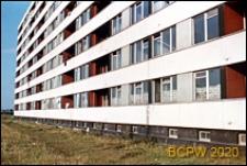 Osiedle mieszkaniowe Prototypów na Służewcu, budynek ośmiokondygnacyjny, elewacja, Warszawa