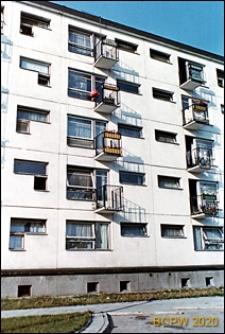 Osiedle mieszkaniowe Prototypów na Służewcu, budynek pięciokondygnacyjny, Warszawa