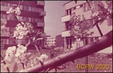 Osiedle mieszkaniowe Sady Żoliborskie, fragment zabudowy osiedla, Warszawa