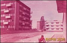 Osiedle mieszkaniowe Sady Żoliborskie, widok fragmentu osiedla, Warszawa