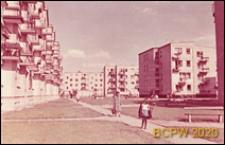 Osiedle mieszkaniowe Wierzbno, wnętrze międzyblokowe, Warszawa