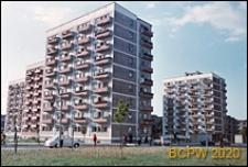 Osiedle mieszkaniowe Wierzbno, widok ogólny zabudowy osiedla, Warszawa
