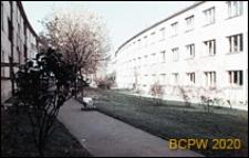 Osiedle mieszkaniowe WSM Żoliborz, wnętrze międzyblokowe, Warszawa