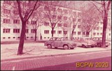 Osiedle mieszkaniowe WSM Żoliborz, czterokondygnacyjny blok mieszkalny, Warszawa