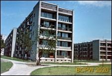 Osiedle mieszkaniowe Żoliborz Południowy, fragment zabudowy, Warszawa