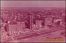 Ściana Wschodnia, widok z Pałacu Kultury i Nauki, strona od Placu Defilad i Marszałkowskiej, Warszawa