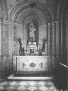 Pałac w Wilanowie. Wnętrze kaplicy (1852-1861)