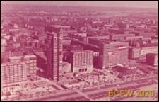 Ściana Wschodnia, widok z Pałacu Kultury i Nauki, panorama od strony ulicy Marszałkowskiej, Warszawa