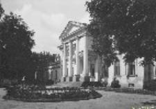 Pałac belwederski w Warszawie. Fasada