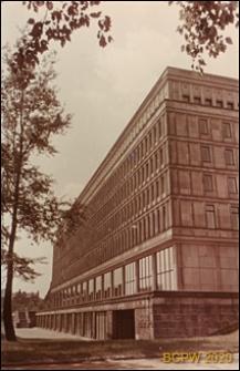 Dom Partii, widok zewnętrzny, Warszawa