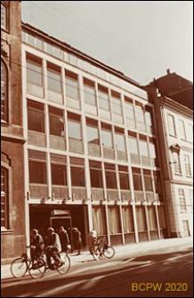 Biurowiec-plomba, elewacja budynku, widok od strony ulicy, Kopenhaga, Dania