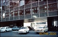Biurowiec firmy Malmstrøm przy ulicy Nyropsgade, fragment elewacji budynku, Kopenhaga, Dania