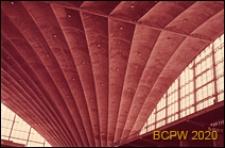 Centrum Nowych Technologii i Przemysłu CNIT, hala wystawowa, wnętrze, fragment sklepienia, Paryż, Francja