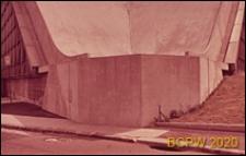 Centrum Nowych Technologii i Przemysłu CNIT, hala wystawowa, detal konstrukcji ściany, Paryż, Francja