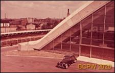 Centrum Nowych Technologii i Przemysłu CNIT, hala wystawowa, fragment budynku, narożnik, Paryż, Francja