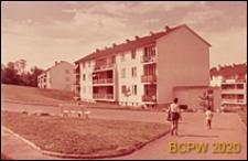 Osiedle mieszkaniowe Beauregard, domy mieszkalne trzykondygnacyjne, Paryż, Francja