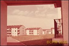 Osiedle mieszkaniowe Beauregard, widok ogólny na zabudowę osiedla, Paryż, Francja