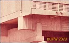 Miasteczko Uniwersyteckie, Dom Brazylijski, detal konstrukcji, Paryż, Francja