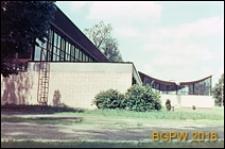 Akademia Wychowania Fizycznego im. Józefa Piłsudskiego, hala sportowa, zbliżenie, Warszawa