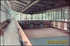 Akademia Wychowania Fizycznego im. Józefa Piłsudskiego, wnętrze sali gimnastycznej, Warszawa