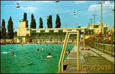 Centralny Wojskowy Klub Sportowy (CWKS) Legia, otwarty basen kąpielowy, Warszawa