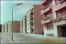 Nowa zabudowa mieszkaniowa przy ulicy Miodowej, Warszawa