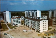 Osiedle mieszkaniowe Młociny, widok panoramiczny, Warszawa
