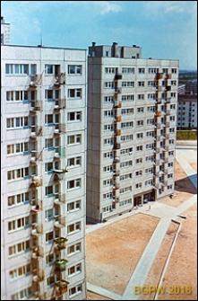 Osiedle mieszkaniowe Młociny, budynki mieszkalne wysokie, Warszawa