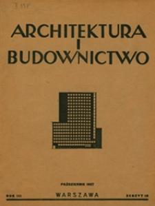 Architektura i Budownictwo 1927 nr 10