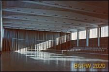 Hala sportowa, wnętrze, sala gimnastyczna, Malmö, Szwecja