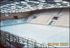 Hala sportowa, widok wewnętrzny, Malmö, Szwecja