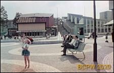 Kino Fontänen, elewacja frontowa budynku, Sztokholm-Vällingby, Szwecja
