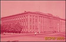 Budynek byłej Ambasady Niemiec na placu św. Izaaka w Petersburgu, widok naroża budynku, Sankt Petersburg, Rosja