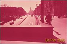 Obwodnica Sadowa, dwupoziomowe skrzyżowanie, Moskwa, Rosja